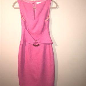 David Meister pink dress